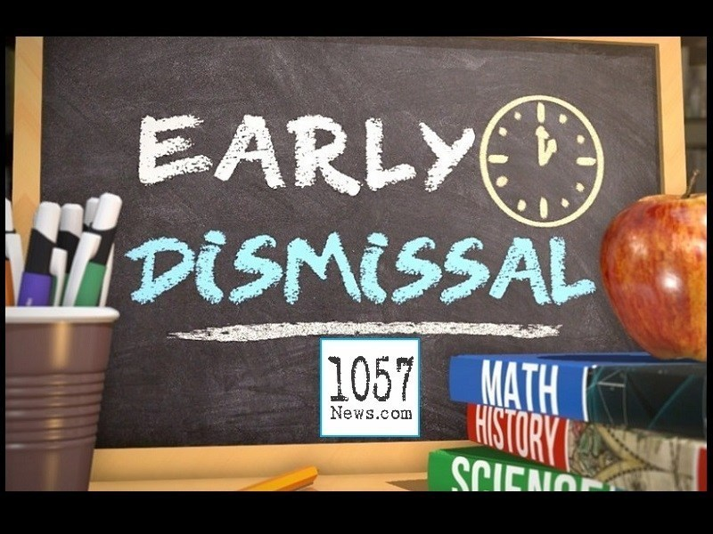 Early Dismissal this Wednesday